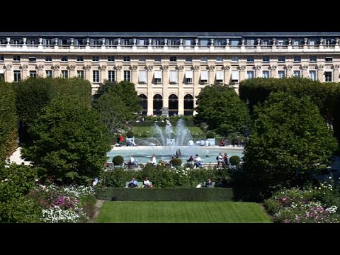 jardin du palais royal petit paradis au c ur de paris youtube. Black Bedroom Furniture Sets. Home Design Ideas