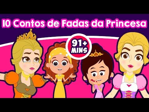 10 Contos de Fadas da Princesa | Contos infantis | Historinhas para dormir | Contos de Fadas