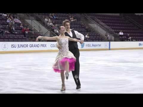 2015 ISU Jr. Grand Prix-Colorado Springs Short Dance Sofia POLISHCHUK / Alexander VAKHNOV RUS