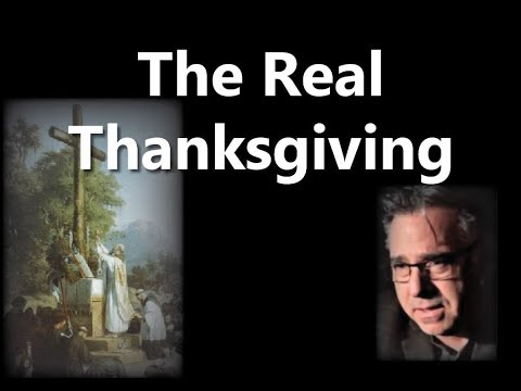 FIRST THANKSGIVING: First Catholic (Latin) Mass In America