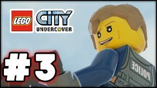 LEGO City Undercover - Part 3 - Roof Top Chase! (HD Gameplay Walkthrough)