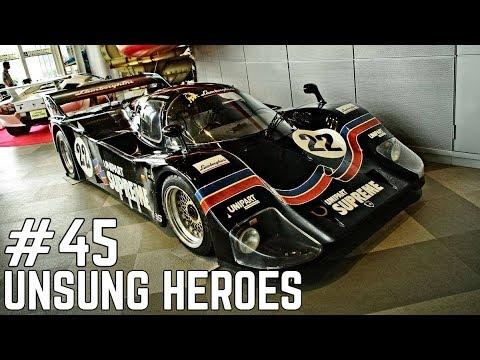 UNSUNG HEROES 45 , The Lamborghini QVX Group C Car