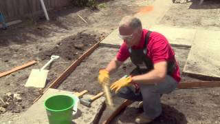 How To Build Formwork - Diy At Bunnings