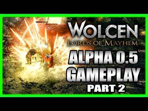 BIG Update! Wolcen Lords of Mayhem (Alpha 0.5) Gameplay Impressions 2017 Part 2 streaming vf