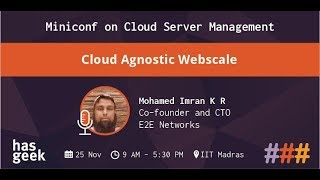 Cloud Agnostic Webscale