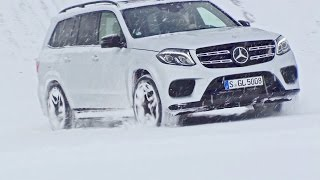 Mercedes GLS (2016) Winter Test