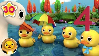 5 Little Ducks   Nursery Rhymes & Kids Songs!   Videos For Kids   Little Baby Animals