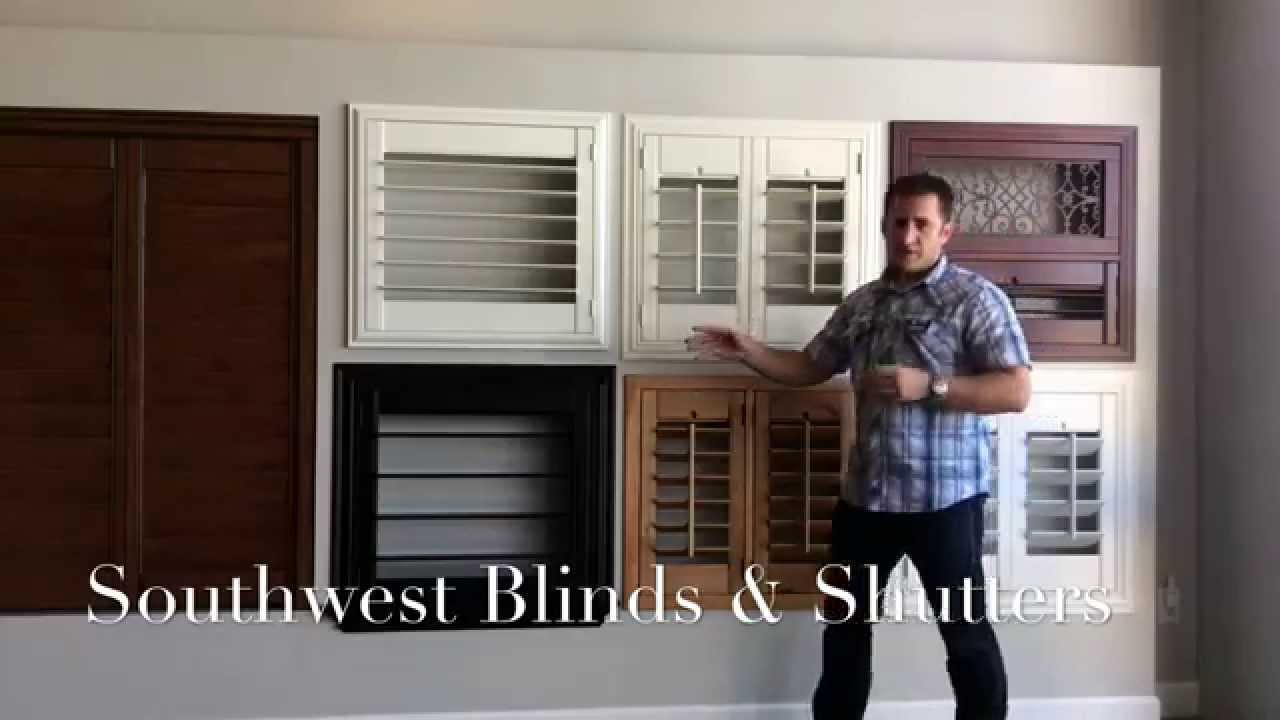 Choosing Louver Sizes For Shutters
