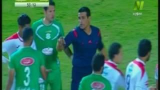 بالفيديو... أحمد جعفر يصفع شوقي السعيد علي وجهه خلال مباراة الزمالك والشرقية