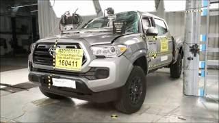 2016-2018 Toyota Tacoma Double Cab NHTSA Side Pole Impact