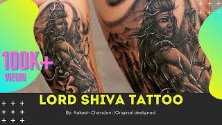 Lord Shiva Tattoo Tutorial | custom tattoo by Akash Chandani