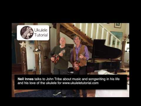 Neil Innes interviewed by John Tribe for ukuleletutorial.com