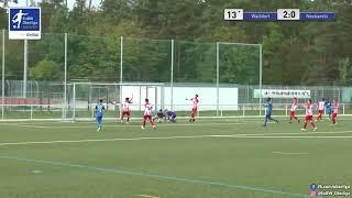 A-Junioren: 3:0 Simon Meier - FC Astoria Walldorf U19 gegen  SPVGG Neckarelz