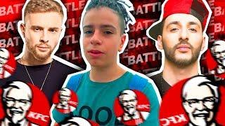 KFC BATTLE 2К18 | L-ONE и ЕГОР КРИД | СЕРФИНГ ПО АСФАЛЬТУ