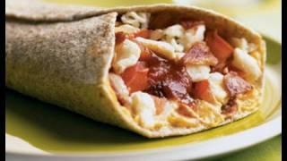 Quick & Healthy Breakfast Burrito (Great Recipe for Diets)