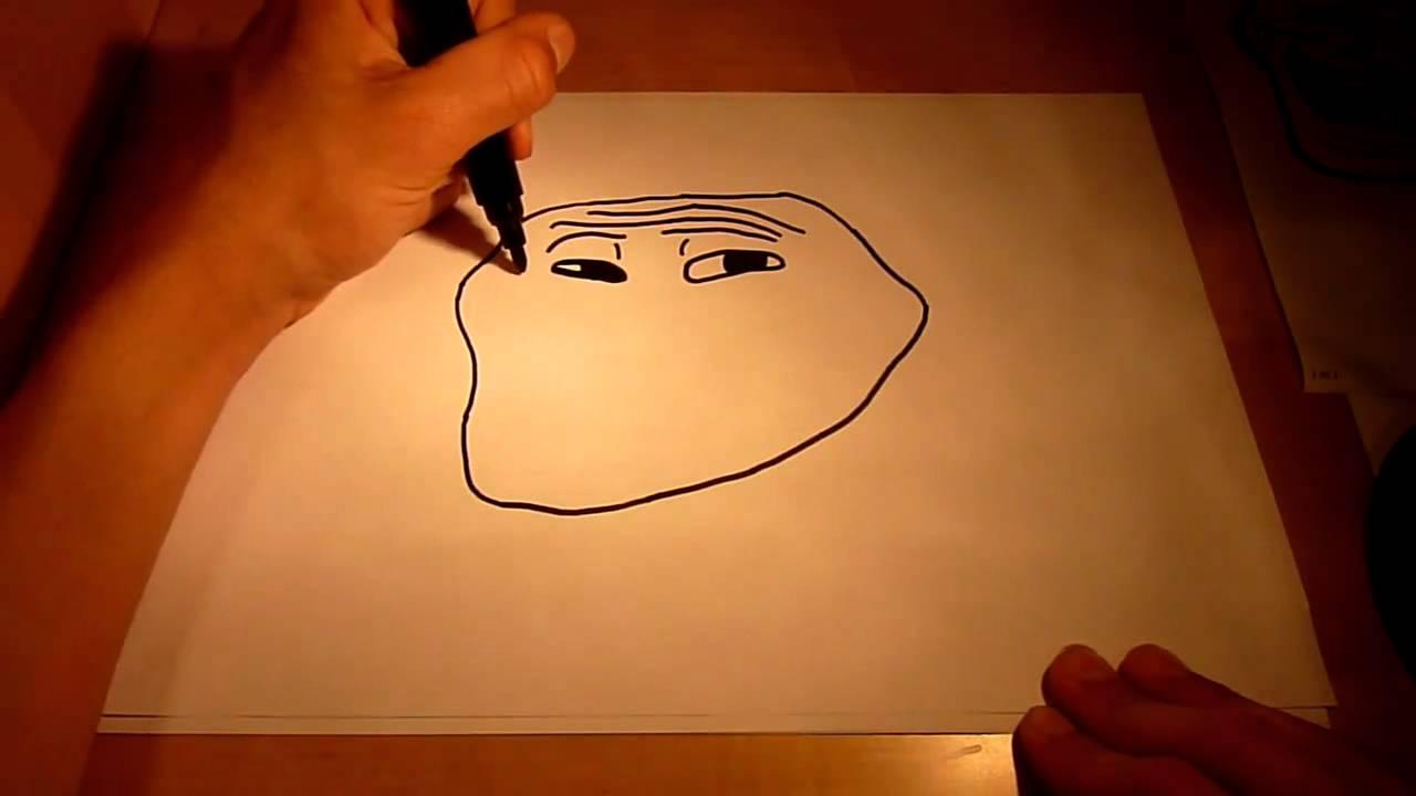 Нарисовать мумий тролля поэтапно