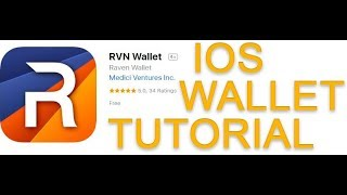 Ravencoin IOS Wallet Tutorial