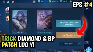 SCRIPT 13.000 DIAMOND 1,5 JUTA BATTLE POINT MOBILE LEGENDS TERBARU PATCH LUO YI MEI MLBB INDONESIA
