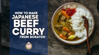 How to Make REAL Japanese Beef Curry from Scratch | Japanese Recipes