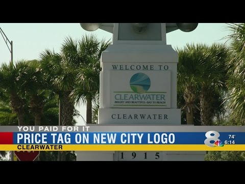 You Paid For It: $200,000 for new City of Clearwater logo