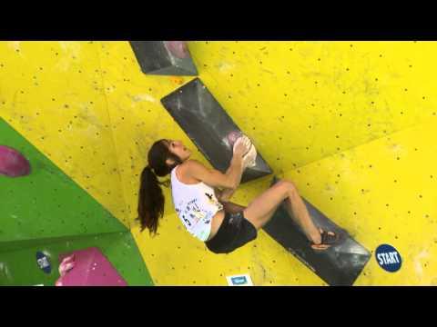 Rock Master de Arco 2014: KO Boulder Contest. Femenino