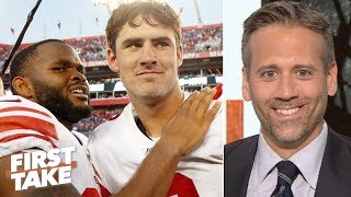'Danny Dimes' is really good - Max Kellerman apologizes for doubting Daniel Jones | First Take