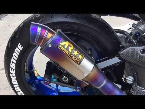 2017 - Full Modifikasi Yamaha Aerox 155 VVA