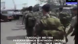 Brimob oprasi lorosae timor timur tahun 1999