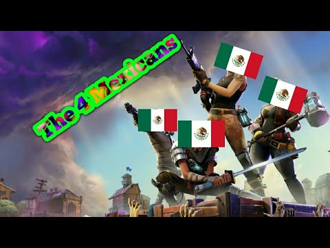 The Mexicans play fornite funny moments