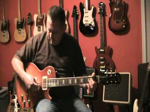 epiphone les paul done peter green style with bg green lizard pickups youtube. Black Bedroom Furniture Sets. Home Design Ideas