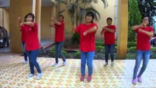 flash mob Ánh Trăng Trẻ Thơ- Chi hội 5-12