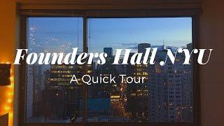 Founders Hall NYU Quick Room Tour
