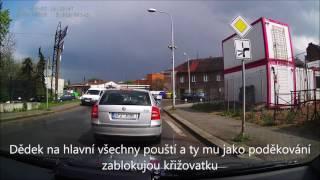 Podbrdská rally - vojenská auta - CRASH od fanouška