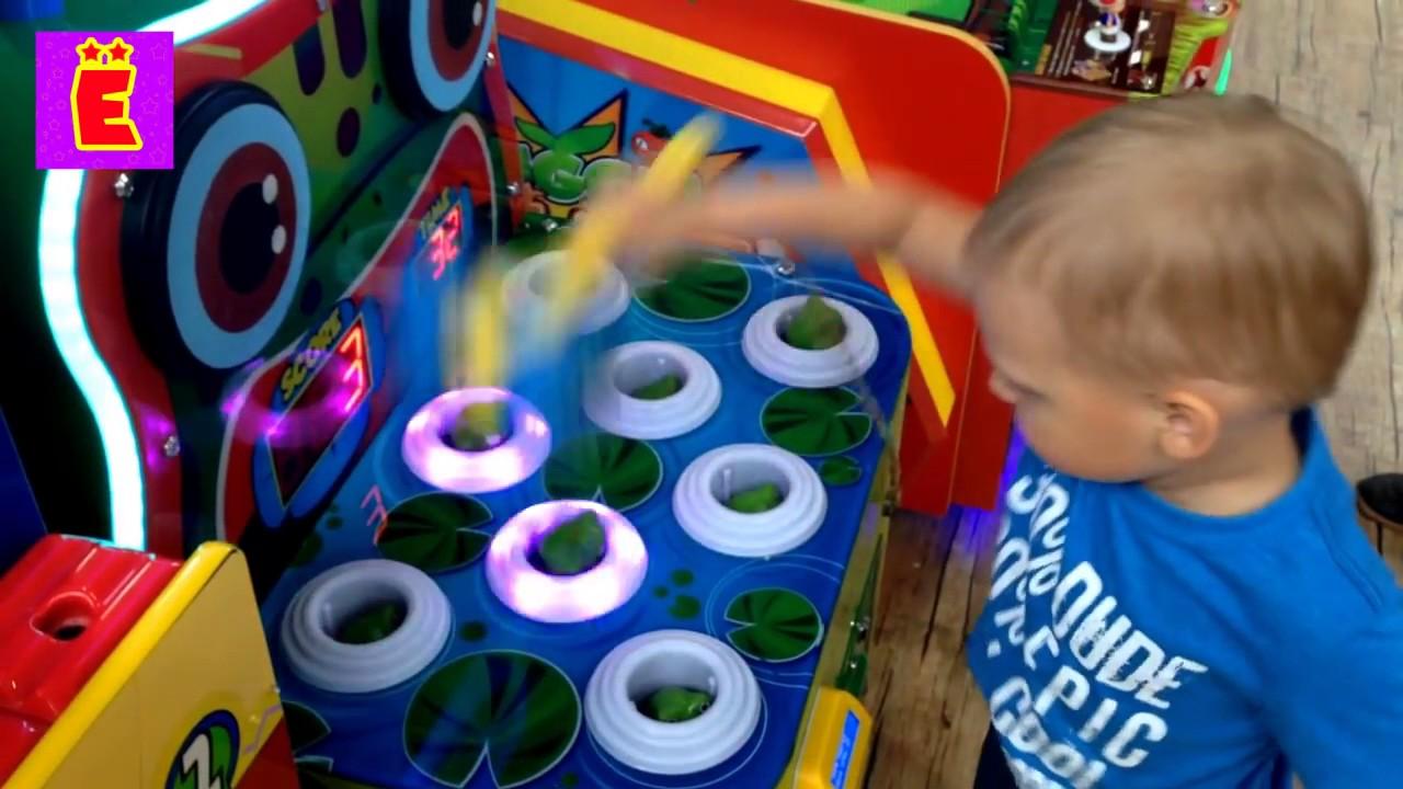 Игровые автоматы аттракционы для детей игровые автоматы медведь
