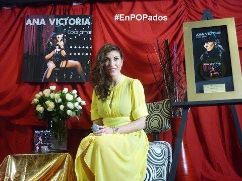ANA VICTORIA canta Si mañana no me ves showcase Sony Music México Color amor
