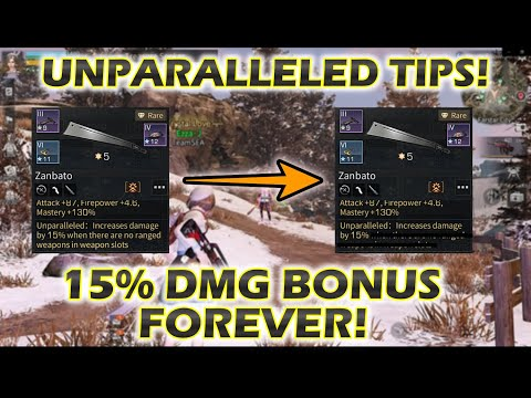 Lifeafter Unparalleled Trick, Get 15% Damage bonus with guns in shortcut slot!~ Tips and Trick