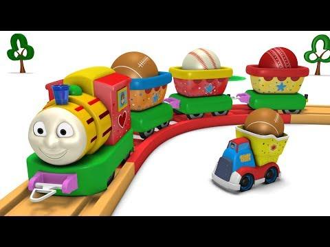 Toy Factory Thomas - Thomas the Train - Kids Videos for Kids - Cartoon Train - Toy Factory Trains