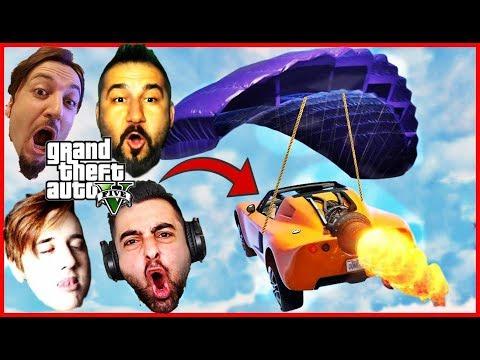 🎯 GTA 5 MANYAK HAREKETLER !! (Sesegel,Ümidi,Gereksiz Oda)