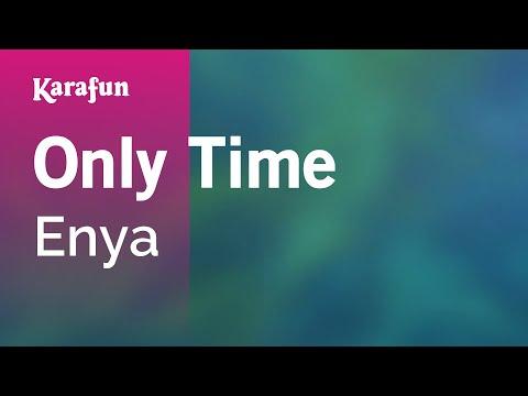 Karaoke Only Time - Enya *