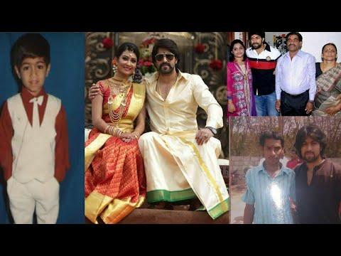 KGF Hero Yash Real Life Photos | Kannada Actor Yash Family Rare & Unseen Pictures | News Mantra
