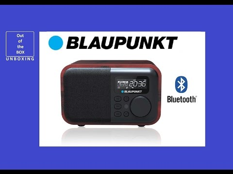 Radio BLAUPUNKT HR10BT Alarm Bluetooth AUX USB/SD MP3 UNBOXING