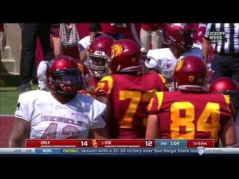 Football: USC 43, UNLV 21 - Highlights 9/1/2018