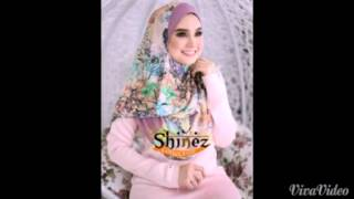Tutorial shawl instant double loop (dua muka)