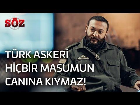 Söz | 31.Bölüm - Türk Askeri Hiçbir Masumun Canına Kıymaz!
