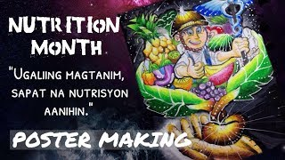 Poster Making Nutrition Month 2018 Ugaliing Magtanim Sapat Na