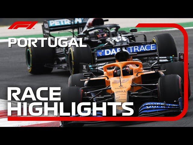 Der Große Preis von Portugal 2020: Rennhighlights