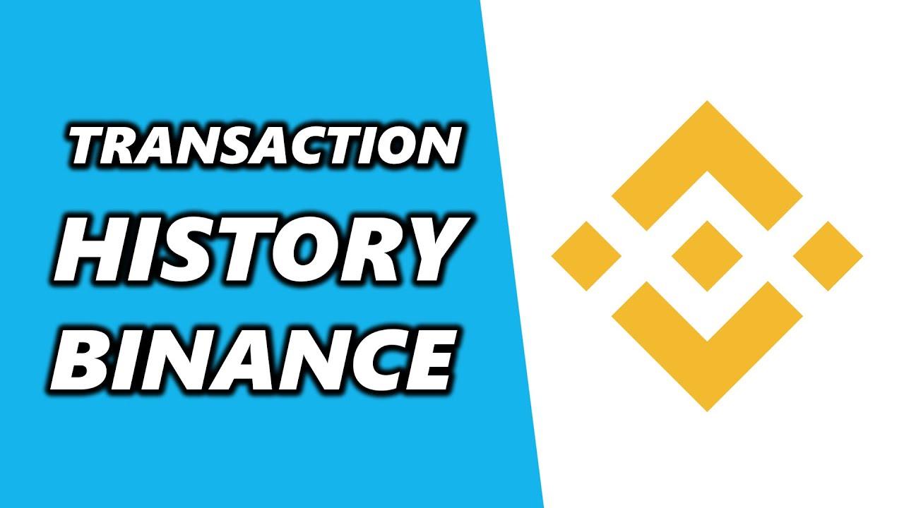 binance transaction history