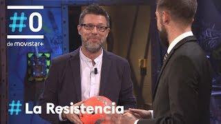 LA RESISTENCIA - La entrevista sorpresa de Quequé vol. IV | #LaResistencia 25.04.2018