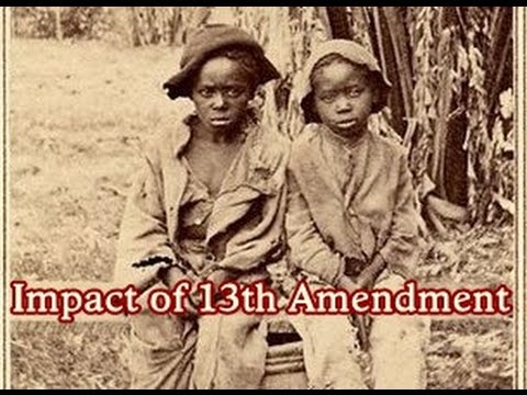 History Brief: The Impact of the 13th Amendment