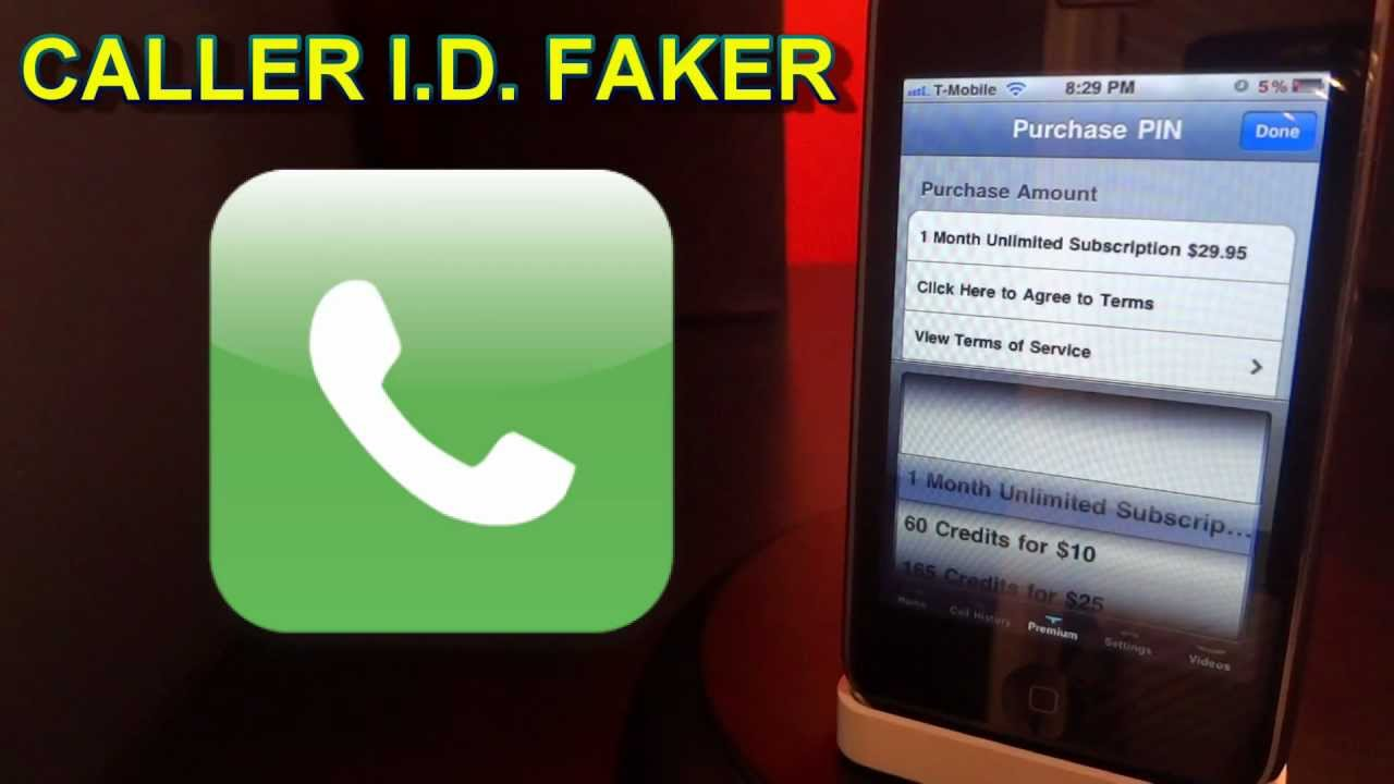 How To Fake Your Caller ID On IPhone,iPod, Or IPad